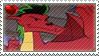 American Dragon Jake Long fan stamp by nicegirl97