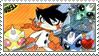 Super Robot Monkey Team Hyperforce Go! fan stamp by nicegirl97