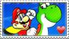 Super Mario World fan stamp by nicegirl97