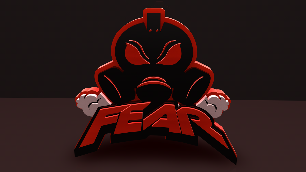 mlg pro team fear 3d logo by vznstudios on deviantart