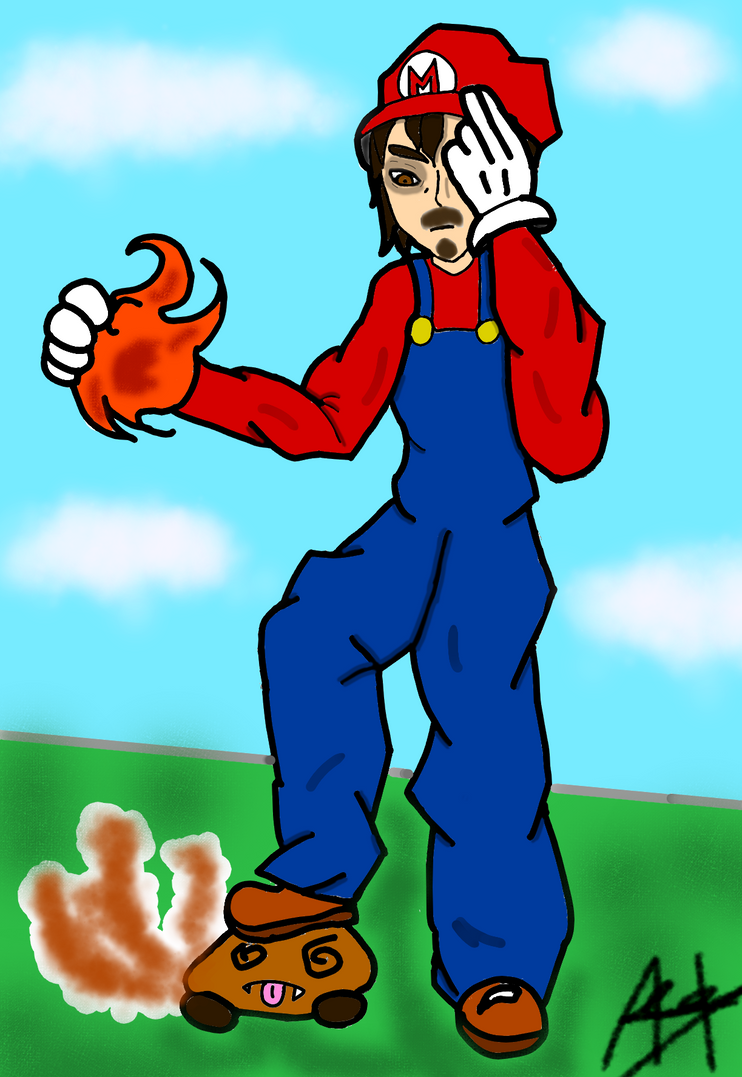 Mario by MitsunaNuzFr
