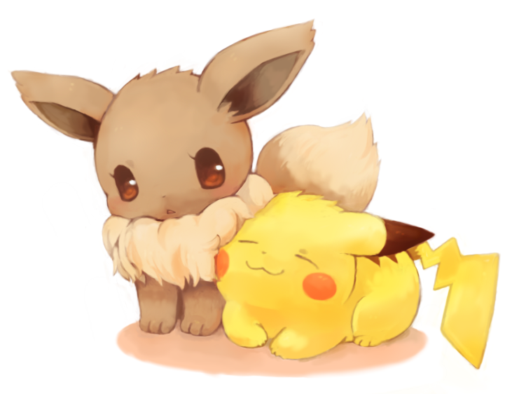 Pikachu and eevee by The-pink-Vodka on DeviantArt  Pikachu and eev...