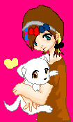 Me and Dorie :3 by happyhyuuga123