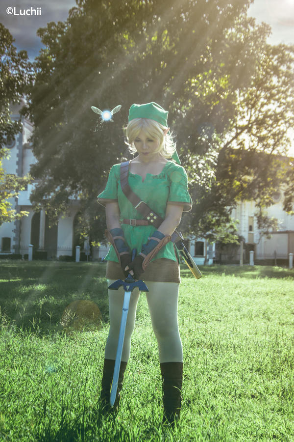 TLOZ Ocarina of time - Link (Female Ver.) 3 by luchia-28