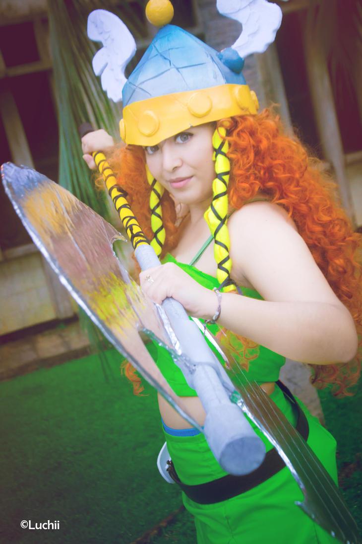 Rayman Legends - Barbara by luchia-28