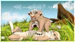 Firya (and Mkali) by kamilejszon