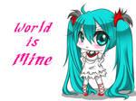 Hatsune Miku - World is Mine
