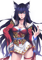 Ahri - League of Legends by GoGoFlyingCat