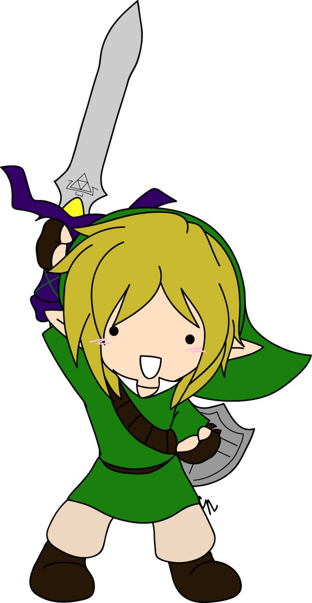 Guess Who Just Finished Skyward Sword? by MewKwota