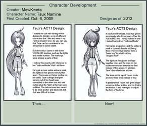 Character Development Meme- Tsux Namine