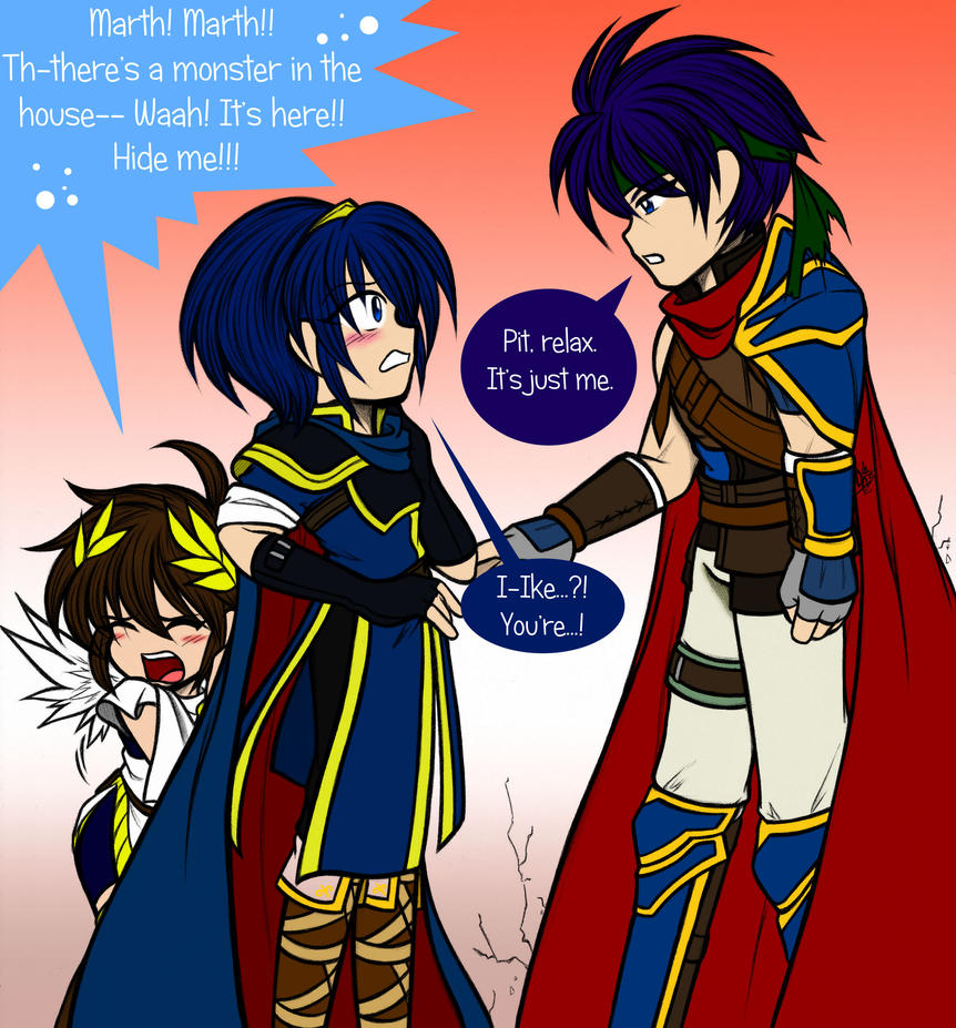 marth and roy meet