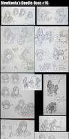 MewKwota's Doodle-Daas 10 by MewKwota