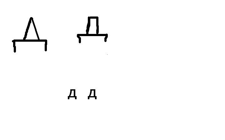 Letter D in Russian by esperanza111 on DeviantArt