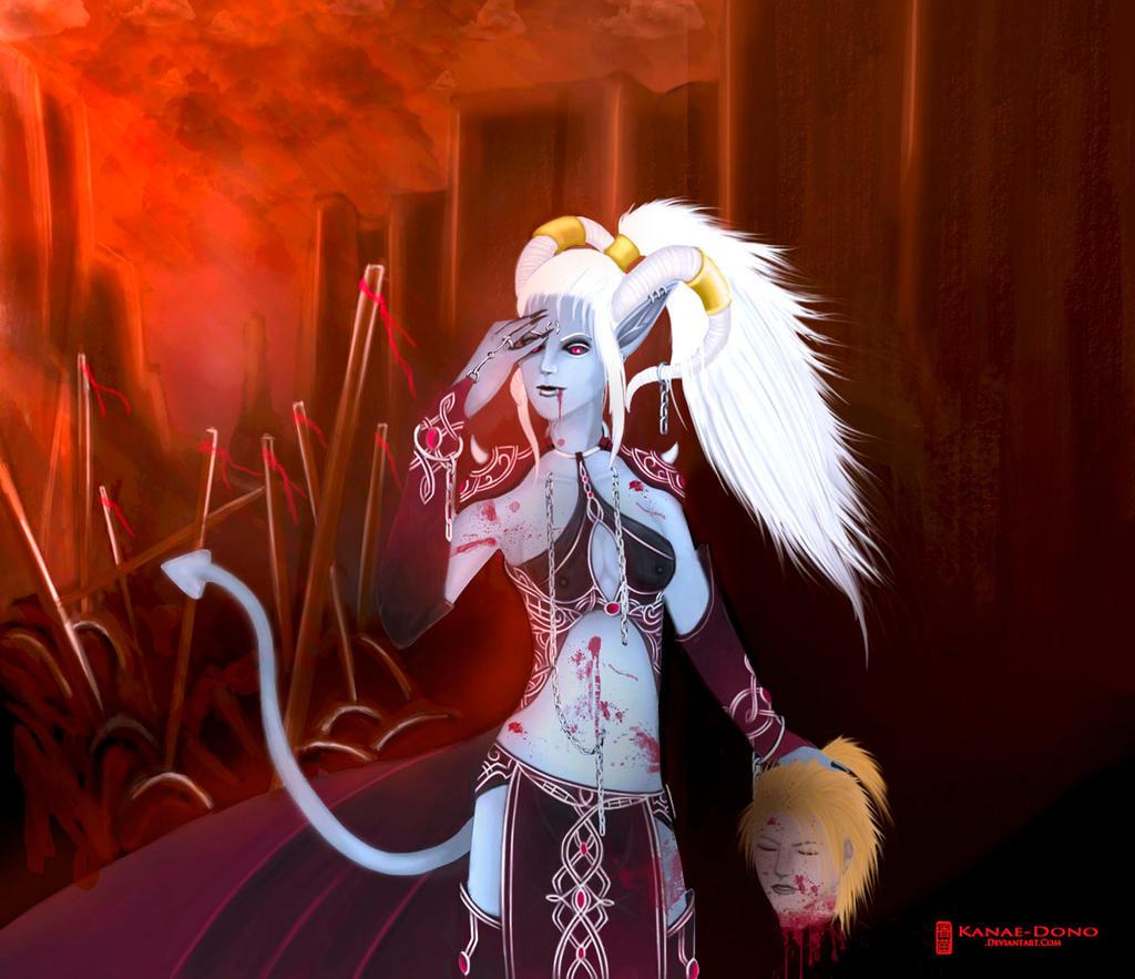 Raven Demon Form by Lucifeir on DeviantArt
