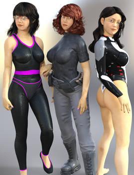 Character Preview: Rumiko for Genesis 3 Female