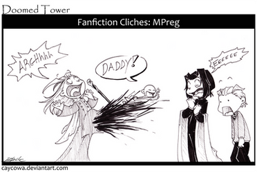 DT- Fanfiction Cliches: MPreg by caycowa