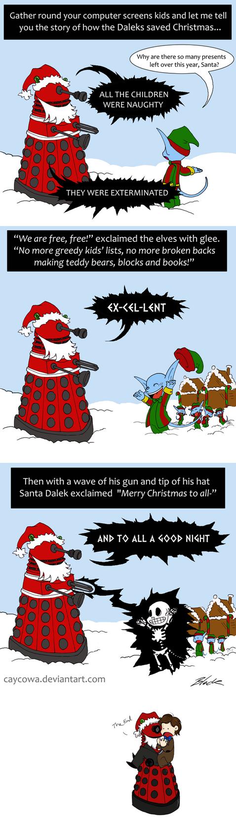 How the Daleks saved Christmas by caycowa