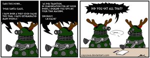 A Dalek's letter to Santa