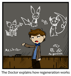 The Doctor explains stuff