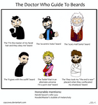 Doctor Who Guide to Beards