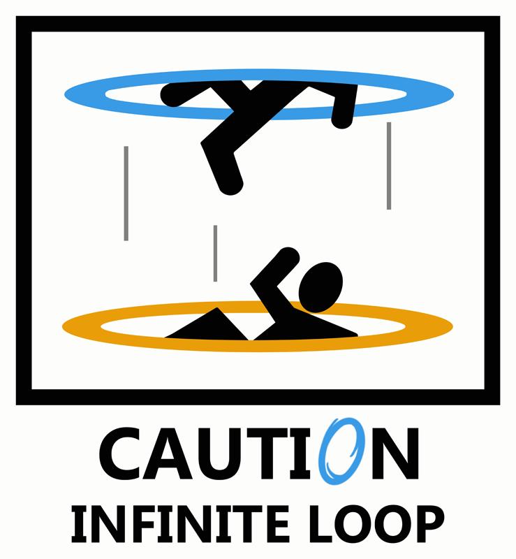 Portal Infinite Gif