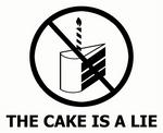 Portal - The cake is a lie