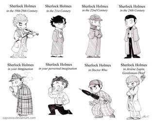 Sherlock Holmes in... by caycowa