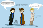 Doctor Who - on traveling alone