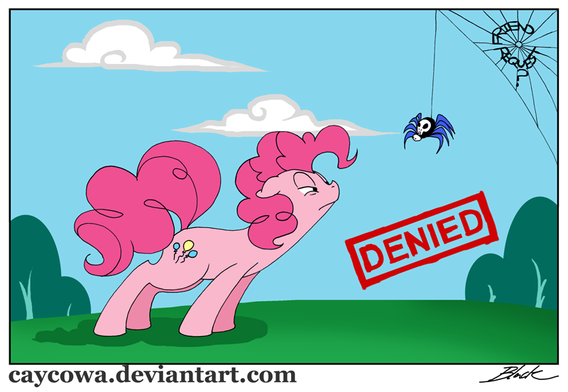 mlp friend request denied by caycowa on deviantart