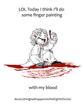 DW - Fingerpainting with the Eighth Doctor