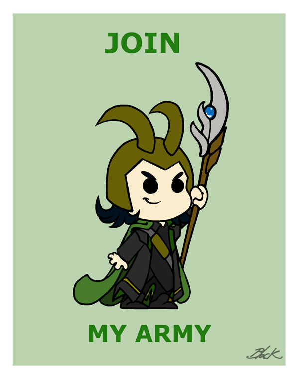 Loki - Join my army by caycowa