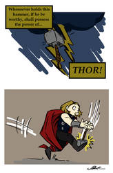 Avengers - If he be clumsy... by caycowa