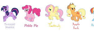 My Little Pony - Mane Six