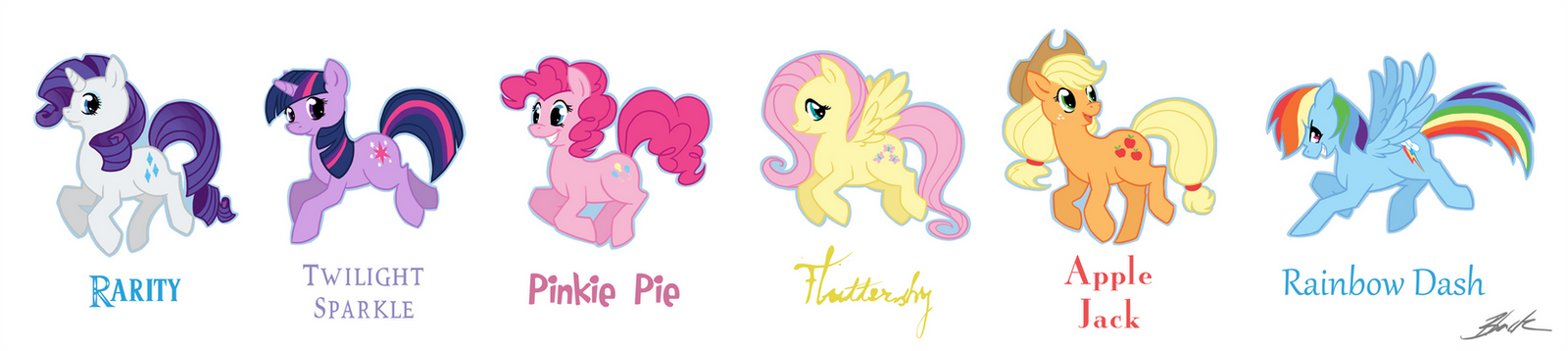 My Little Pony, Main Six Royalty ~ by Angelicsweetheart on DeviantArt