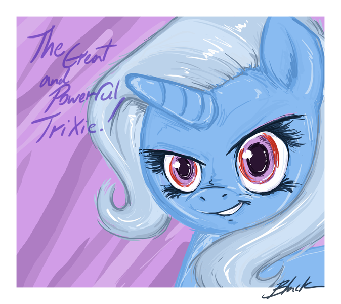 MLP - The great and powerful Trixie by caycowa