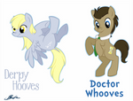 MLP - Derpy Hooves and Doctor Whooves