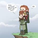 LotR - Legolas and Gimli
