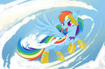 MLP - Rainbow Dash Gala revisited