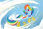 MLP - Rainbow Dash Gala revisited