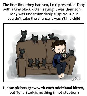 Frostiron - Tony's cats