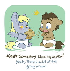 MLP - Somepony stole my muffin by caycowa