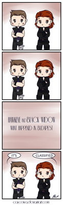 Hawkeye and Black Widow: What Happened In Budapest