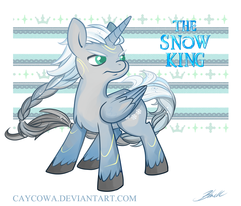 Crossovers King And Queen: The Snow King By Caycowa On DeviantArt