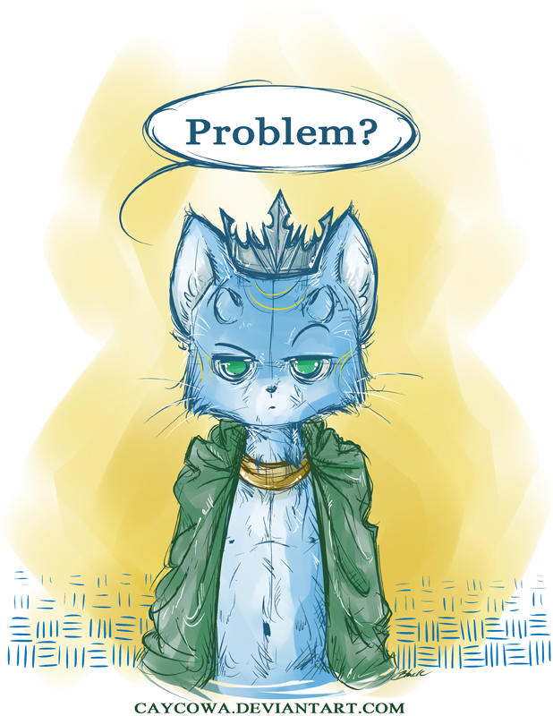 Lokitty - Problem? by caycowa