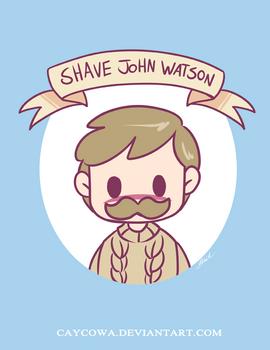Shave John Watson