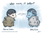 Who wore it better?  Second Doctor VS Jotun!Loki