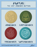 Avatar: The Last Airbender buttons