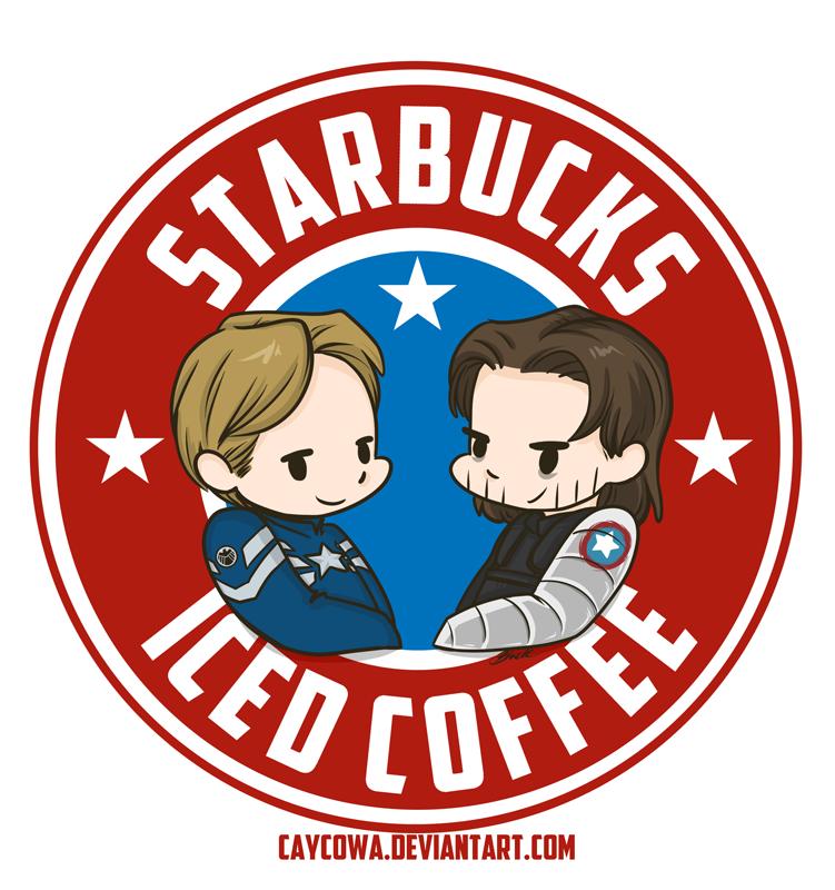 StarBucks Iced Coffee by caycowa