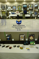 Black's Sideshow at the Keycon Art Show by caycowa