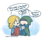 Thor and Loki - Woods